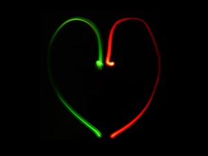 lightpainting coeur2